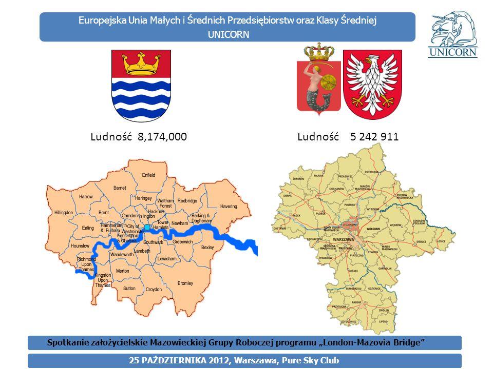 Europejska Unia Małych i Średnich Przedsiębiorstw oraz Klasy Średniej UNICORN Polacy w Londynie W Londynie mieściły się i nadal mieszczą najważniejsze polonijne instytucje i organizacje, a dziesiątki tysięcy Polaków, dzieci i wnuki pokolenia wojennej emigracji, piastują kierownicze funkcje w brytyjskich korporacjach, firmach i uniwersytetach.