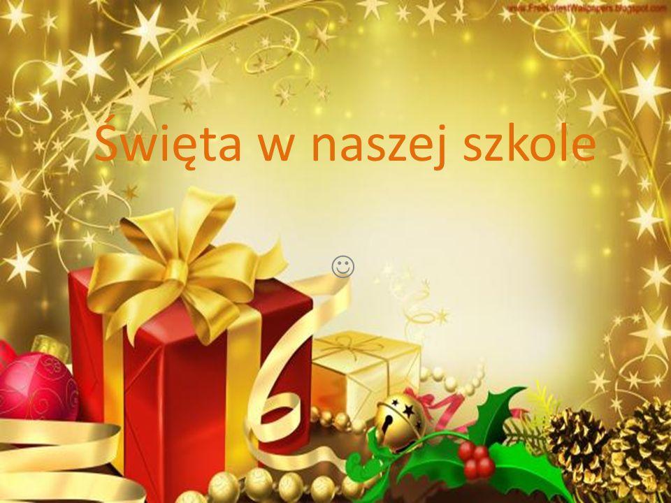 Święta w naszej szkole