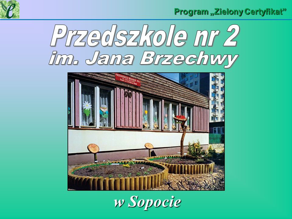 Program Zielony Certyfikat w Sopocie w Sopocie