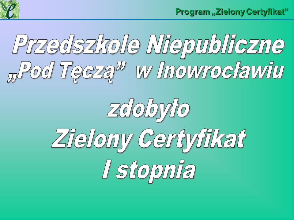Program Zielony Certyfikat