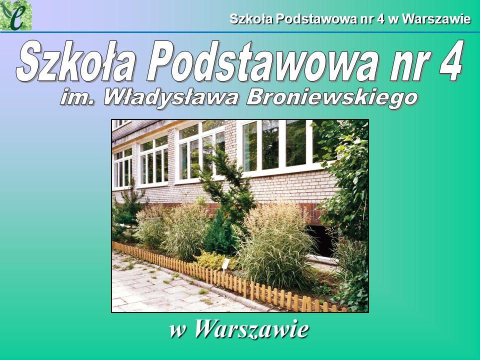 Szkoła Podstawowa nr 4 w Warszawie w Warszawie