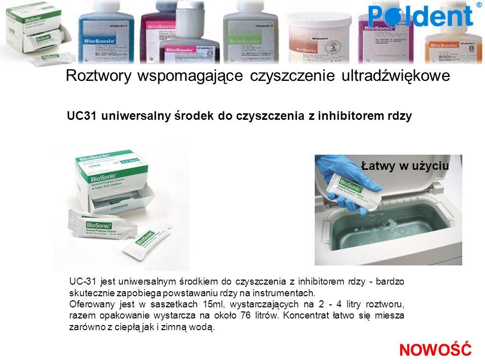 Roztwory wspomagające czyszczenie ultradźwiękowe UC31 uniwersalny środek do czyszczenia z inhibitorem rdzy UC-31 jest uniwersalnym środkiem do czyszcz