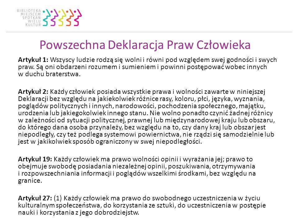 Kultura, włączenie i uczestnictwo W 2011 r.