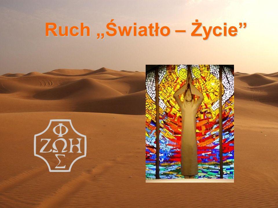 Ruch Światło - Życie (potocznie zwany oazą) - jest jednym z ruchów odnowy Kościoła według nauczania Soboru Watykańskiego II.