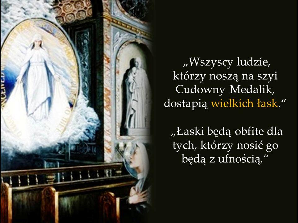 M atka Boża objawiła się skromnej, religijnej kobiecie i powiedziała: