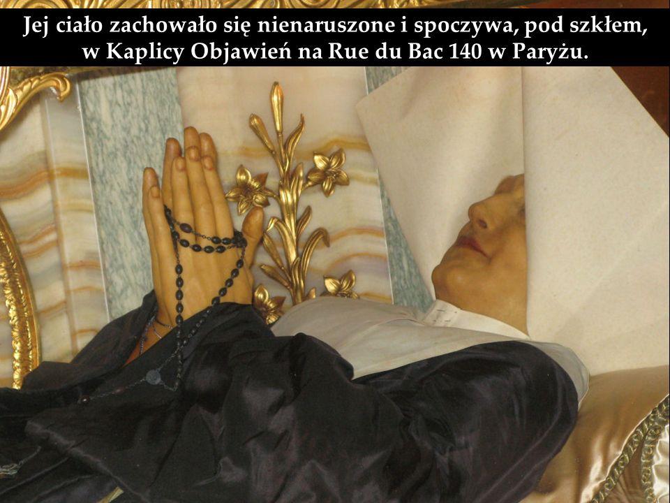 Osobą, która otrzymała to przesłanie z nieba, była nowicjuszka Katarzyna Labouré.