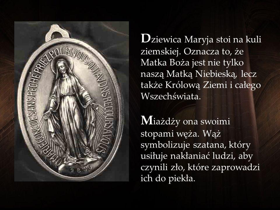 Awers Cudownego Medalika