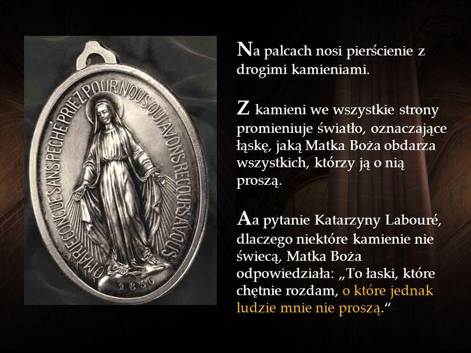 M adonna ma moc nieporównywalnie silniejszą od szatana. M atka Boża chroni wszystkie swoje dzieci, które modlą się do niej z ufnością.