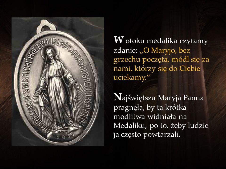 Rok 1830 jest rokiem objawień Najświętszej Maryi Panny, w którym objawiła medalik Katarzynie Labouré. Było to późnym popołudniem 27 listopada.