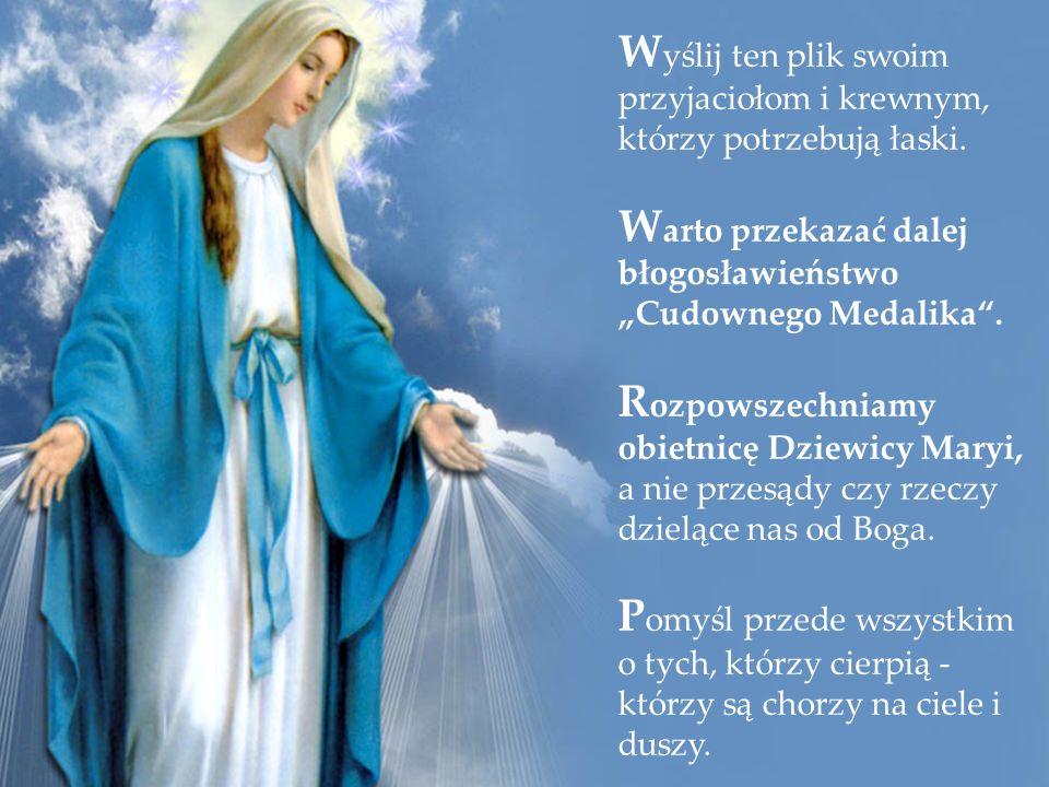 Tak otrzymasz Cudowny Medalik pocztą i dodatkowo łaskę Najświętszej Maryi Panny: dzięki zapaleniu świecy na 30 dni w Oratorium Cudownego Medalika Klik