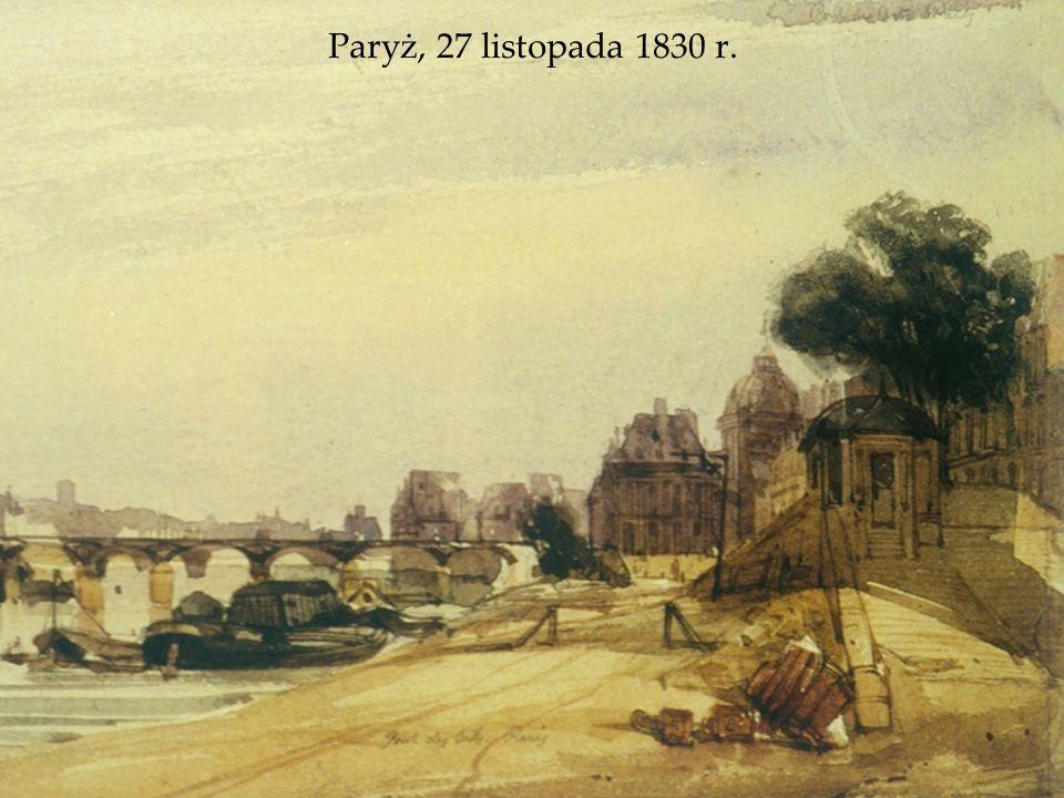 Paryż, 27 listopada 1830 r.