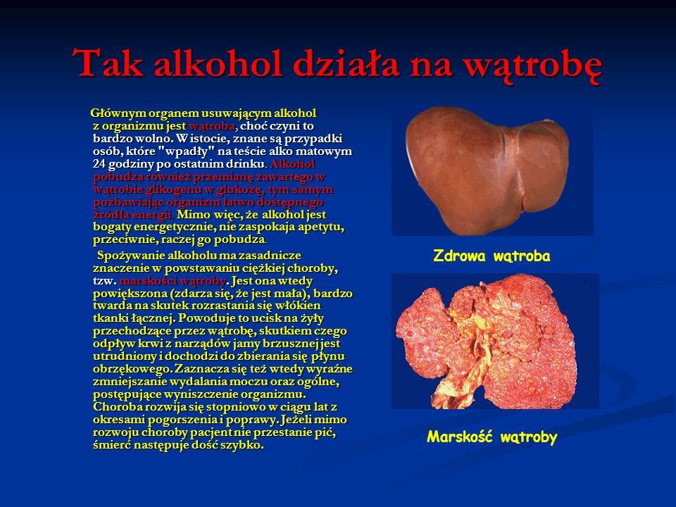 Tak alkohol działa na żołądek Mężczyźni trawią alkohol szybciej niż kobiety, gdyż mają w swych żołądkach więcej ADH, a to jest właśnie enzym przekszta