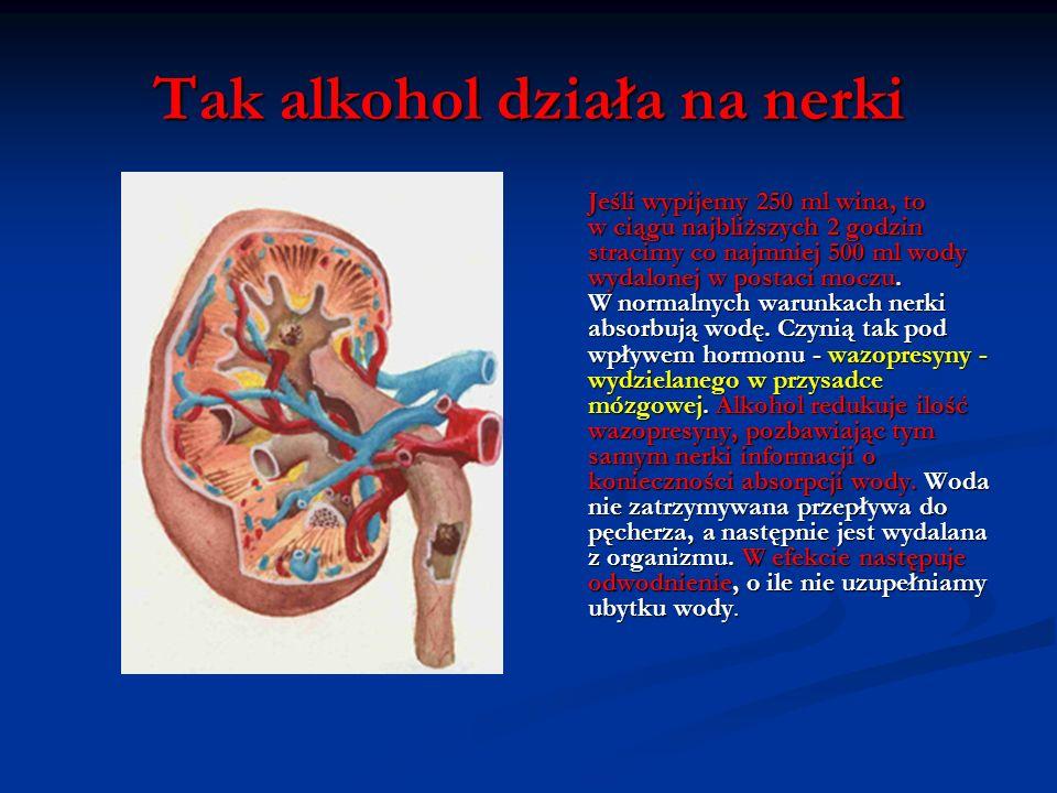 Tak alkohol działa na wątrobę Głównym organem usuwającym alkohol z organizmu jest wątroba, choć czyni to bardzo wolno. W istocie, znane są przypadki o