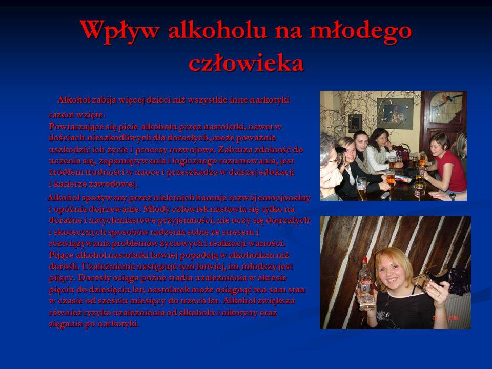 Wpływ alkoholu na psychikę człowieka Wśród zaburzeń psychicznych alkoholika na plan pierwszy wysuwają się tutaj halucynacje czyli omamy, zresztą nie w