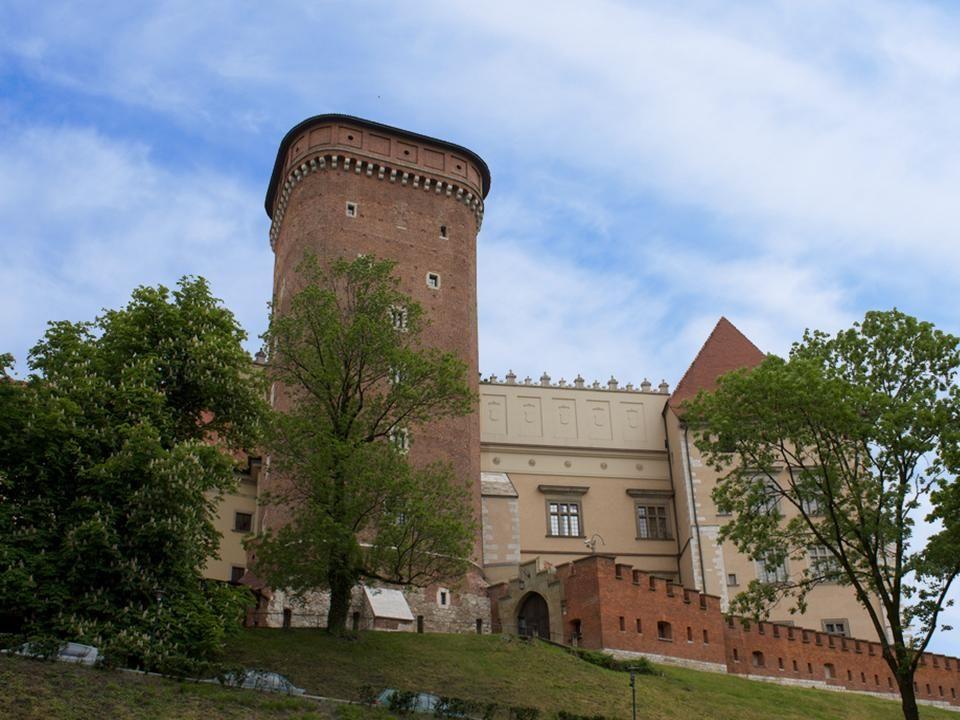 Warszawa – Zamek Królewski Na wyniosłej skarpie wiślanej, w granicach dzisiejszej Warszawy, znajduje się Zamek Królewski.