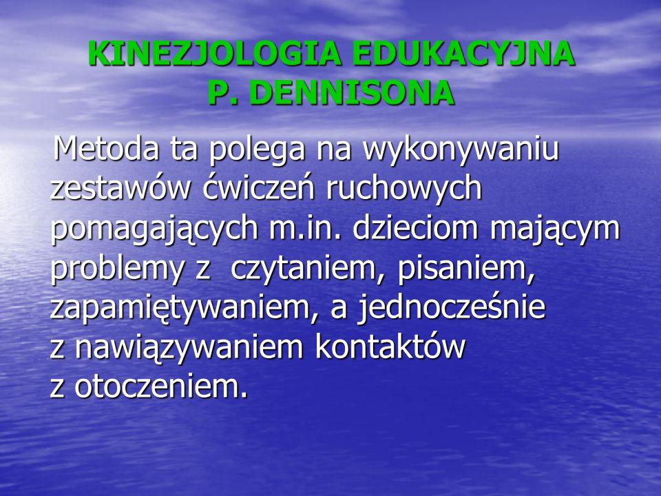 KINEZJOLOGIA EDUKACYJNA P.