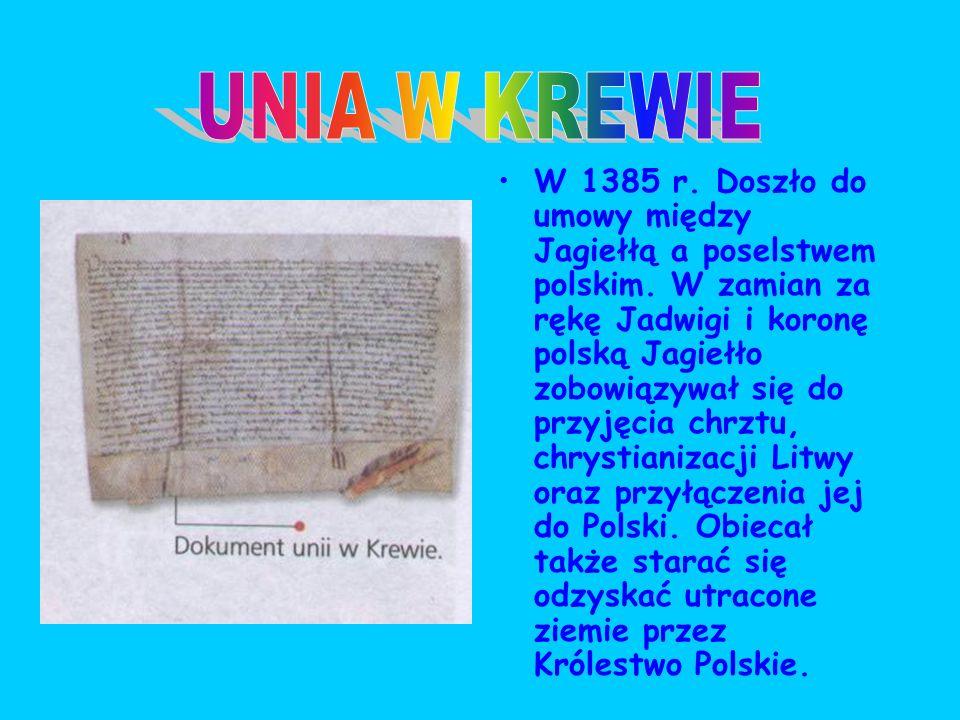 Obie strony zarówno panowie polscy, jak i bojarzy litewscy byli zainteresowani ekspansją na Rusi, co też wymagało zjednoczenia sił dla kontynuowania t