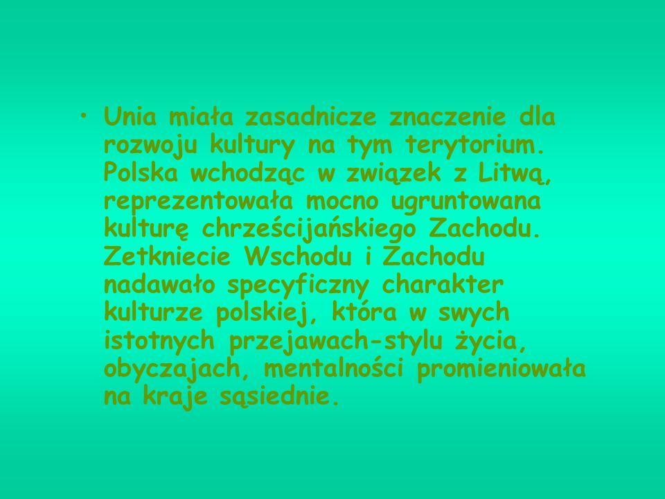 Unia polsko-litewska zmieniła w zasadniczy sposób pozycję obu państw w Europie. Polska Kazimiera Wielkiego była niezdolna do samodzielnej polityki wob