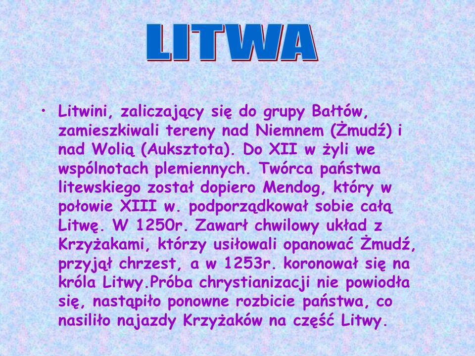 UNIA WILEŃSKO-RADOMSKA ( 1401 r) – umowa ta przyznawała Witoldowi dożywotni status wielkiego księcia na Litwie ( magnus dux), natomiast Jagielle, królowi Polski, funkcję zwierzchniego najwyższego pana na Litwie (supremus dux) utrzymano, więc: PERSONALNY CHARAKTER UNII POLSKO – LITEWSKIEJ.