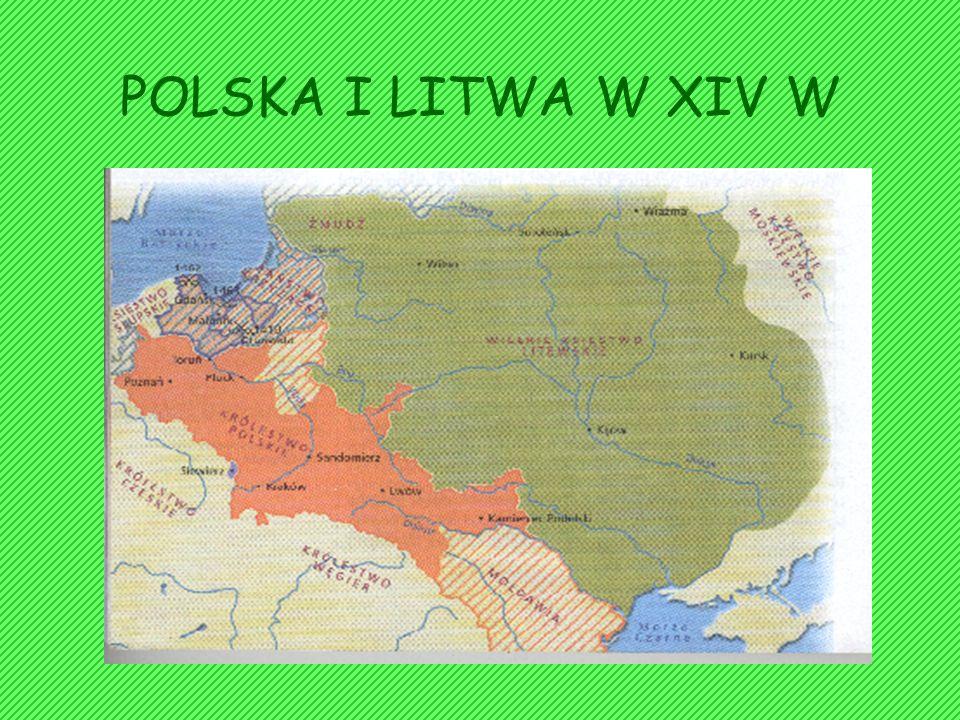 Ponownego zjednoczenia dokonał Giedymin (1316- 1341). Podporządkował sobie dalsze terytorium ruskie po Prypeć i środkowy Dniepr. Po jego śmierci państ