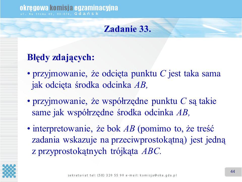 44 Zadanie 33.