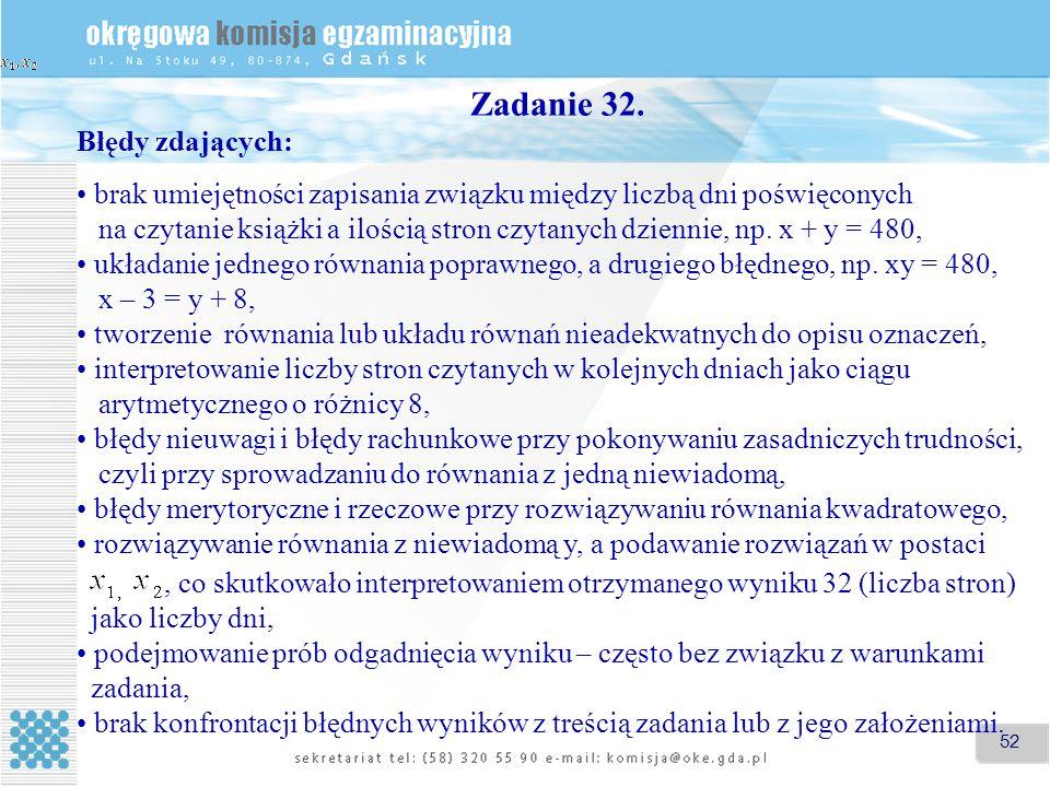 52 Zadanie 32.