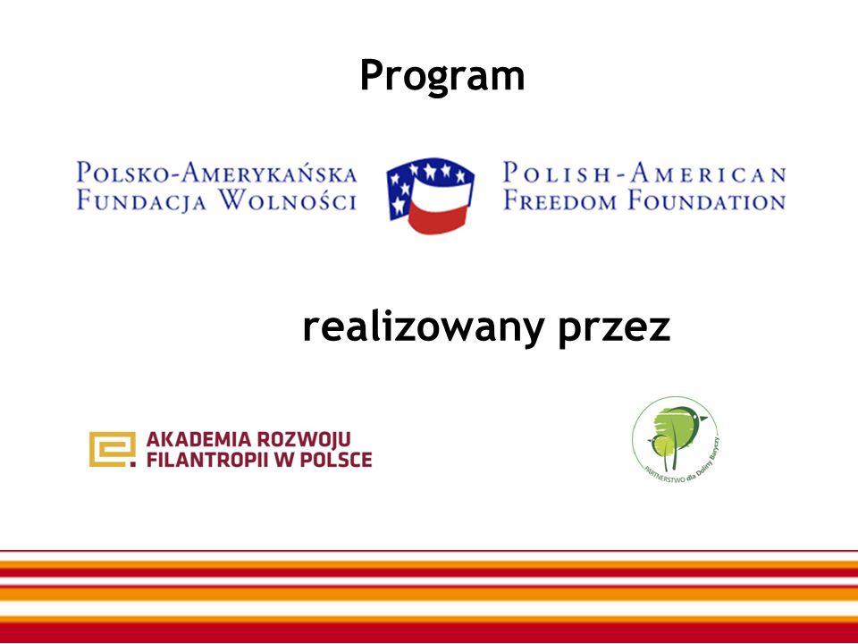Program realizowany przez