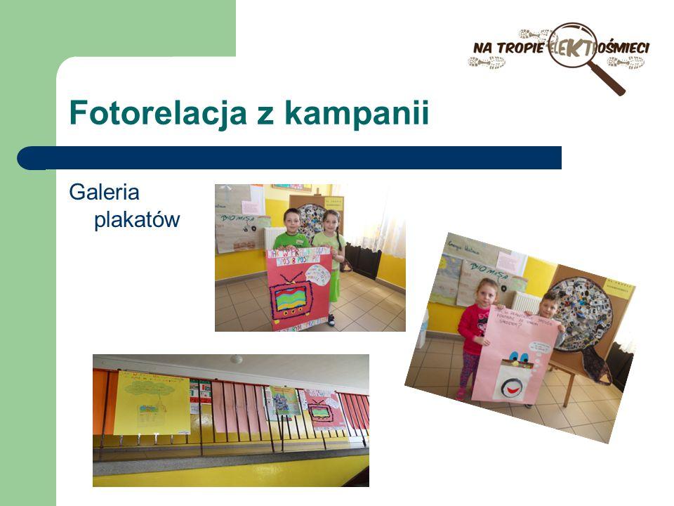 Fotorelacja z kampanii Galeria plakatów