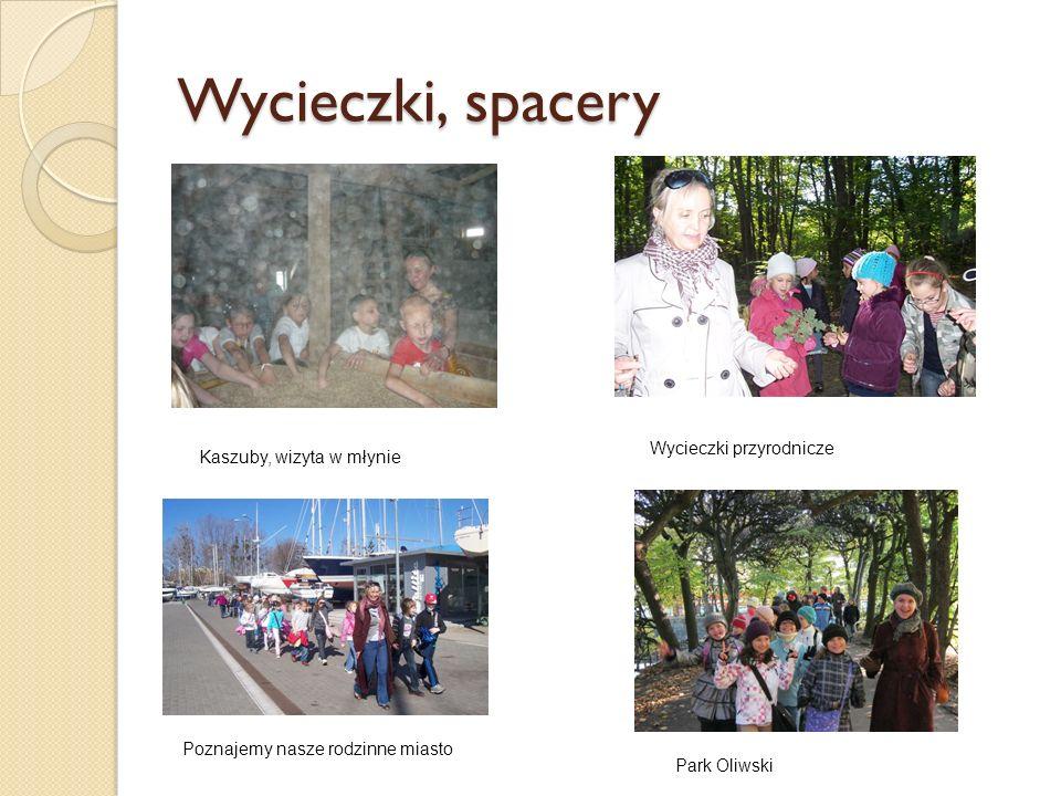 Wycieczki, spacery Kaszuby, wizyta w młynie Wycieczki przyrodnicze Poznajemy nasze rodzinne miasto Park Oliwski