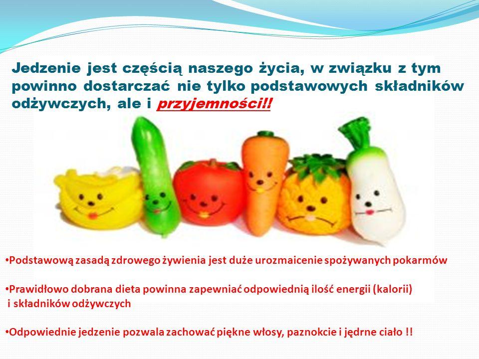 Jedzenie jest częścią naszego życia, w związku z tym powinno dostarczać nie tylko podstawowych składników odżywczych, ale i przyjemności!.