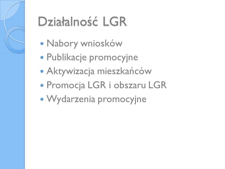 Promocja obszaru LSROR i działalności LGR Działaniem promocyjnym LGR realizowanym w ostatnim czasie jest udział w targach turystycznych.