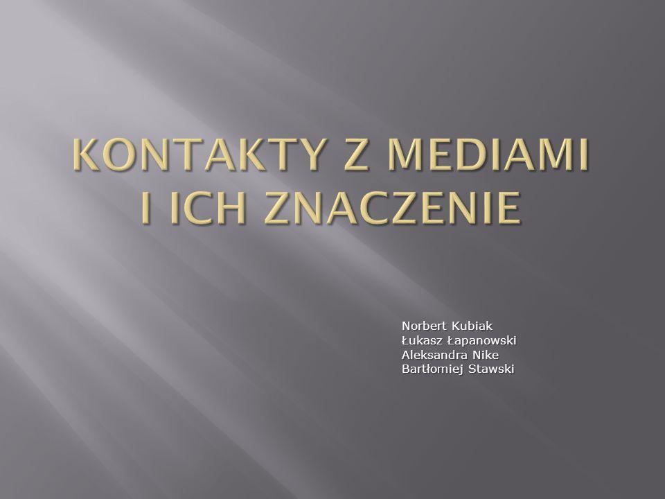 Norbert Kubiak Łukasz Łapanowski Aleksandra Nike Bartłomiej Stawski