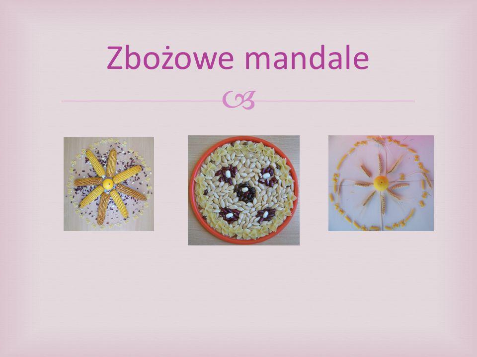 Zbożowe mandale