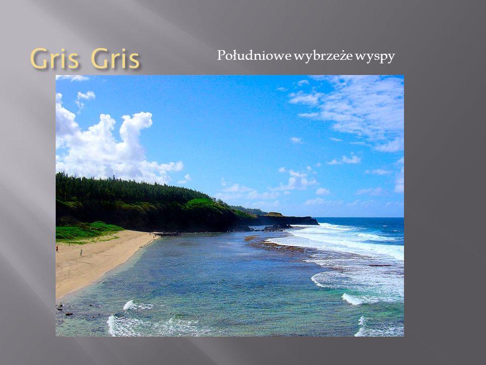 Gris Gris Południowe wybrzeże wyspy