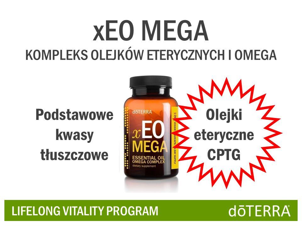 Podstawowe kwasy tłuszczowe Olejki eteryczne CPTG xEO MEGA KOMPLEKS OLEJKÓW ETERYCZNYCH I OMEGA