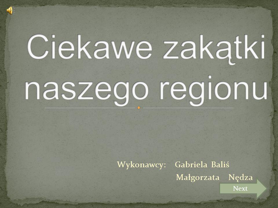 Wykonawcy: Gabriela Baliś Małgorzata Nędza Next