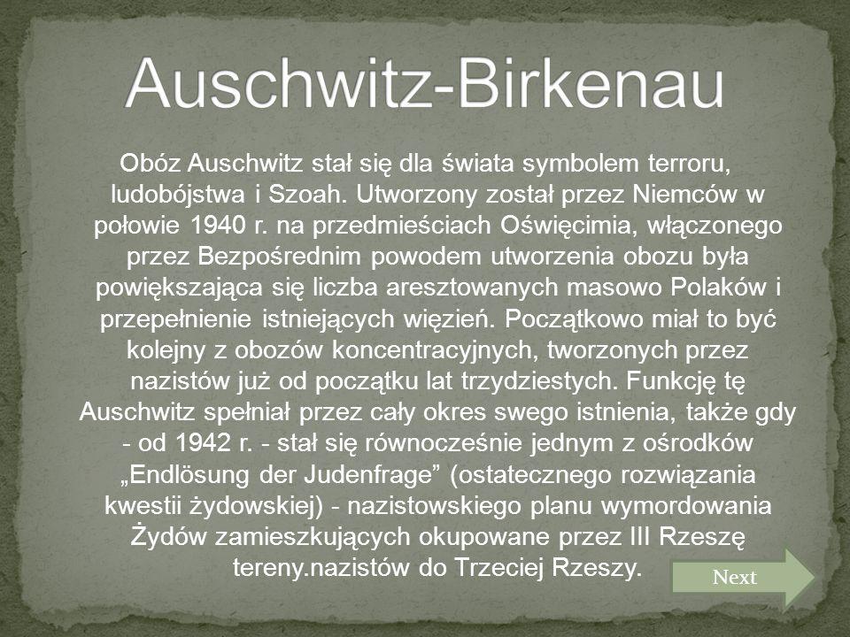 Obóz Auschwitz stał się dla świata symbolem terroru, ludobójstwa i Szoah.