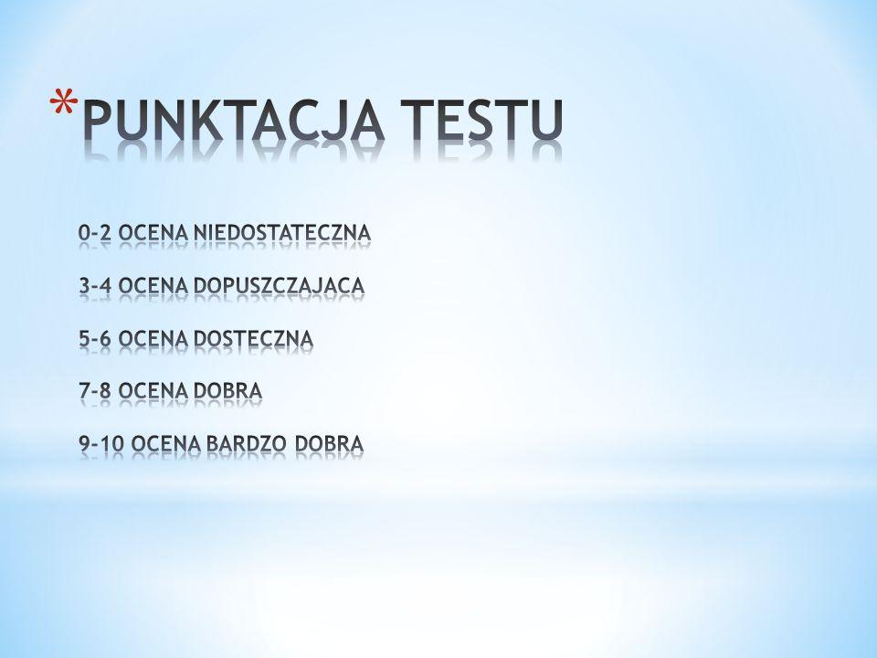 SZABLON TESTU