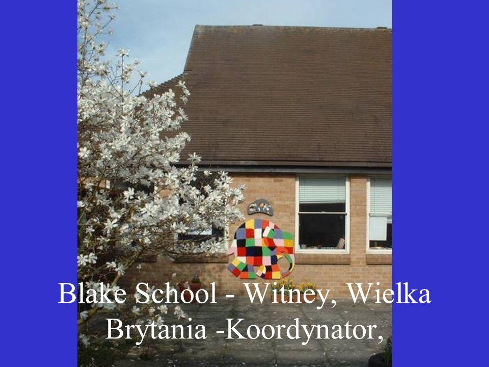 Blake School - Witney, Wielka Brytania -Koordynator,