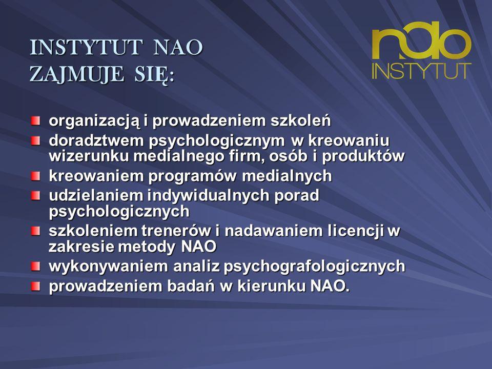 INSTYTUT NIEINWAZYJNEJ ANALIZY OSOBOWO Ś CI 91-415 Łódź, Plac Wolności 2 91-415 Łódź, Plac Wolności 2 tel.
