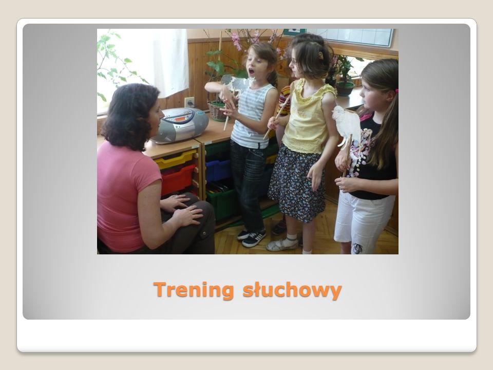 Realizacja projektu przyczyniła się do: maksymalnego rozwinięcia systemu językowego służącemu zdobywaniu wiedzy i doskonaleniu umiejętności komunikowania się z otoczeniem; poprawy umiejętności komunikacyjnych w języku werbalnym, czego wskaźnikiem jest wzrost umiejętności posługiwania się systemem językowym (słownictwo, gramatyka, artykulacja); rozwinięcia słuchu fizycznego i mownego u dzieci z uszkodzonym analizatorem słuchowym; usprawnienia dzieci ze sprzężeniami- metodą Integracji Sensorycznej;
