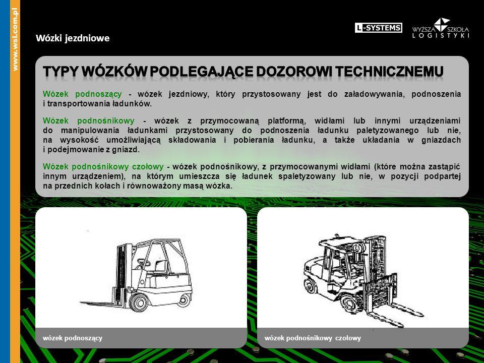 Wózki jezdniowe wózek podnoszącywózek podnośnikowy czołowy