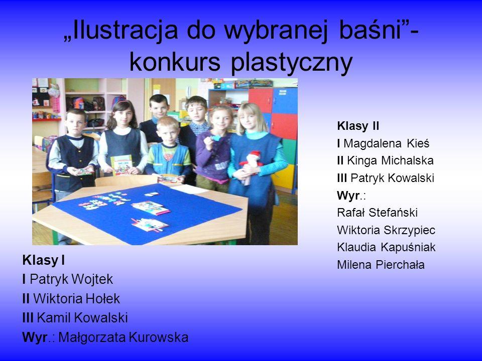 Międzyświetlicowy Wojewódzki Konkurs Plastyczny Dzieci z świetlicy szkolnej wzięły udział w organizowanym przez świetlicę szkolną Szkoły Podstawowej n