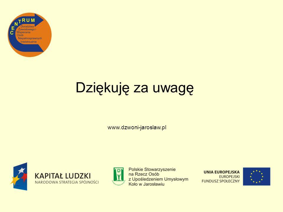 www.dzwoni-jaroslaw.pl Dziękuję za uwagę