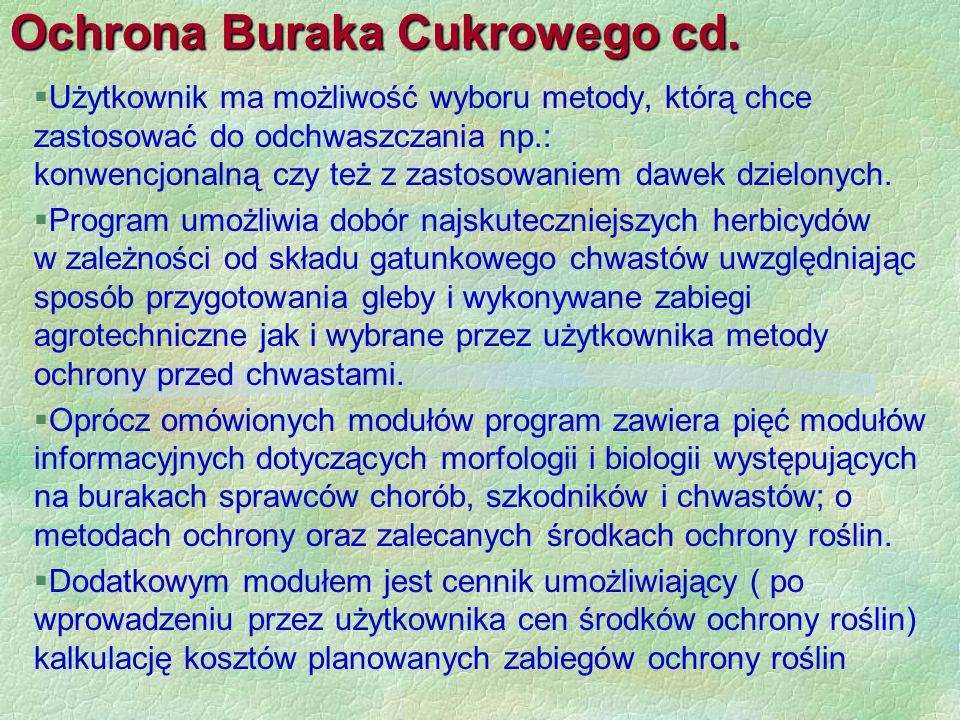 Ochrona Buraka Cukrowego cd.