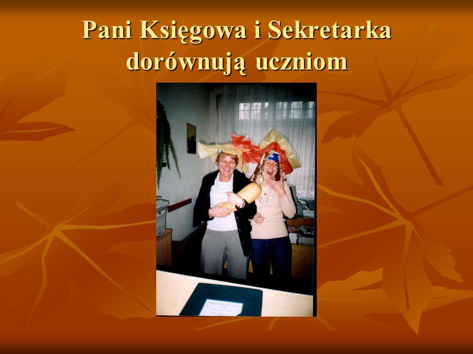 Pani Księgowa i Sekretarka dorównują uczniom