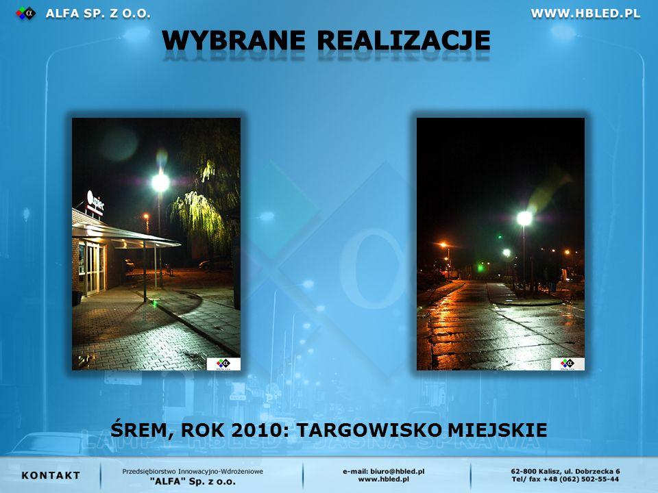 ŚREM, ROK 2010: TARGOWISKO MIEJSKIE