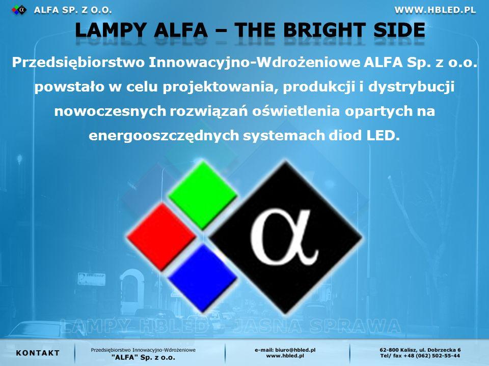 Przedsiębiorstwo Innowacyjno-Wdrożeniowe ALFA Sp. z o.o.