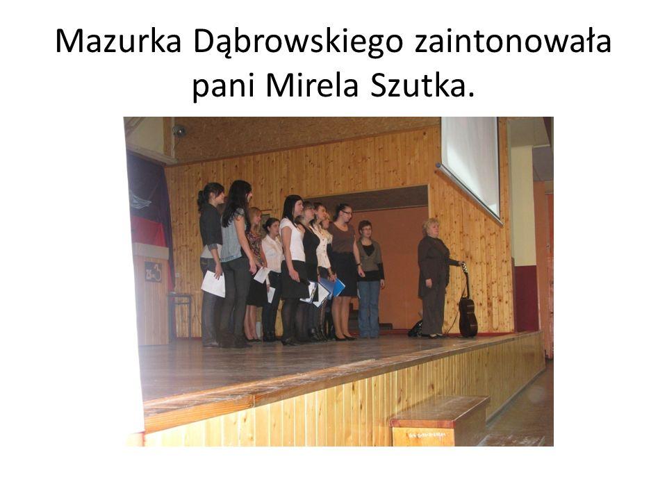 Przywitanie uczestników uroczystości.