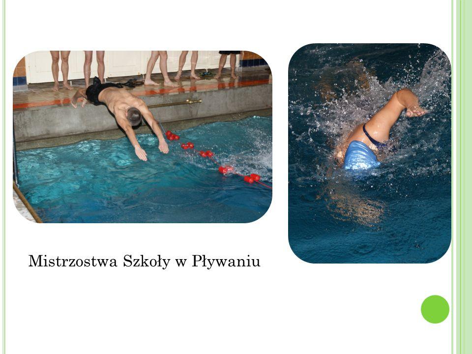 Mistrzostwa Szkoły w Pływaniu